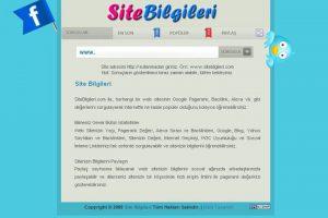 Site Bilgileri
